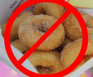 no mini donuts