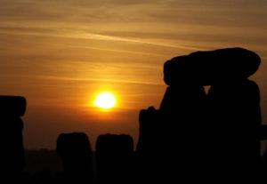 stonehenge sun